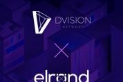 블록체인 기반 가상현실 플랫폼 디비전 네트워크, 엘론드와 파트너십 체결