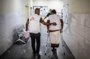 예멘 아덴 국경없는의사회 병원, 극심한 전투로 부상자 대거 유입