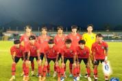 [유니버시아드] 남자대표팀, 일본에 0-2 패 4강 진출 좌절