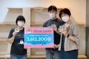 궁디팡팡 캣페스타·프로젝트21, 길고양이 TNR에 360만원 기부