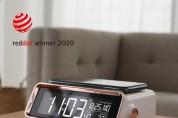 무아스, 2020 레드닷 디자인 어워드 선정 '무선충전 무드등 시계' 출시